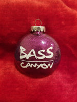 Bass Canyon Christmas Ornament