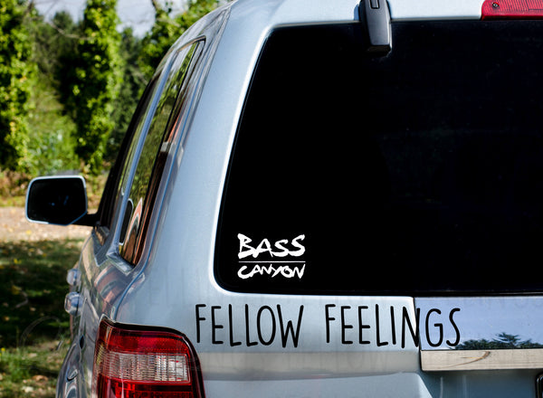 Bass Canyon Decal
