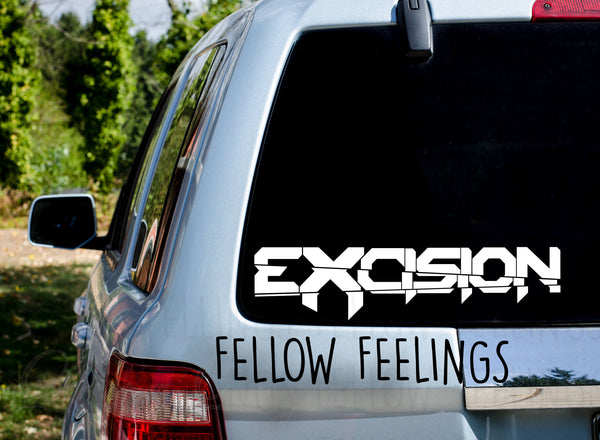 Excision Word Decal