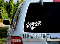Gammer Decal