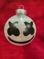 Marshmello Christmas Ornament