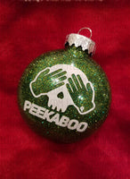 Peekaboo Christmas Ornament