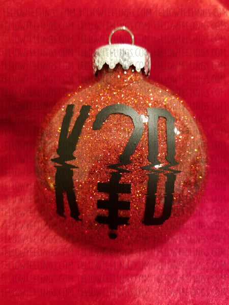 K?D Christmas Ornament