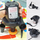 12V AC Car Electric Air Pump For Camping Airbed Boat Toy Inflator Summer hit Toy
