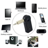 3.5mm Streaming AUX bluetooth Wireless Car Adapter Audio Stereo Music Handfree