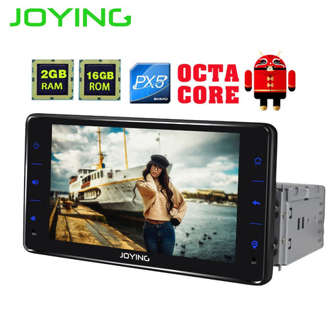 "6.2""Joying Single 1 Din Car Audio Stereo Radio Multimedia Player GPS  PX5 Octa Core"