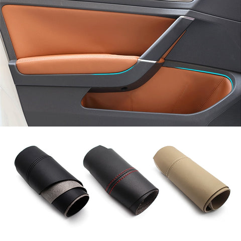 8pc set Interior Door VW Gold mk7 Armrest Panel Protective Cover Mat For VW Golf 7