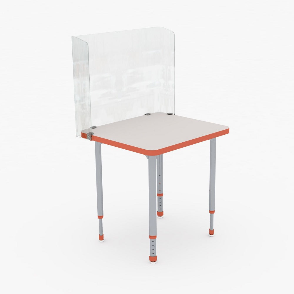 PARAGON CLEAR FLEXIBLE DESK DIVIDER
