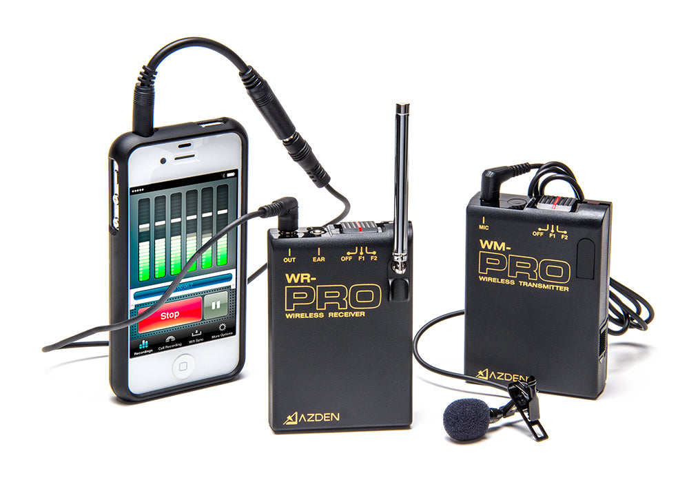 Azden WLX-PRO+i Wireless Microphone System