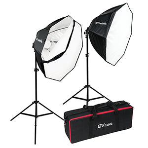 Smith Victor Octabella 1000 LED Light Kit