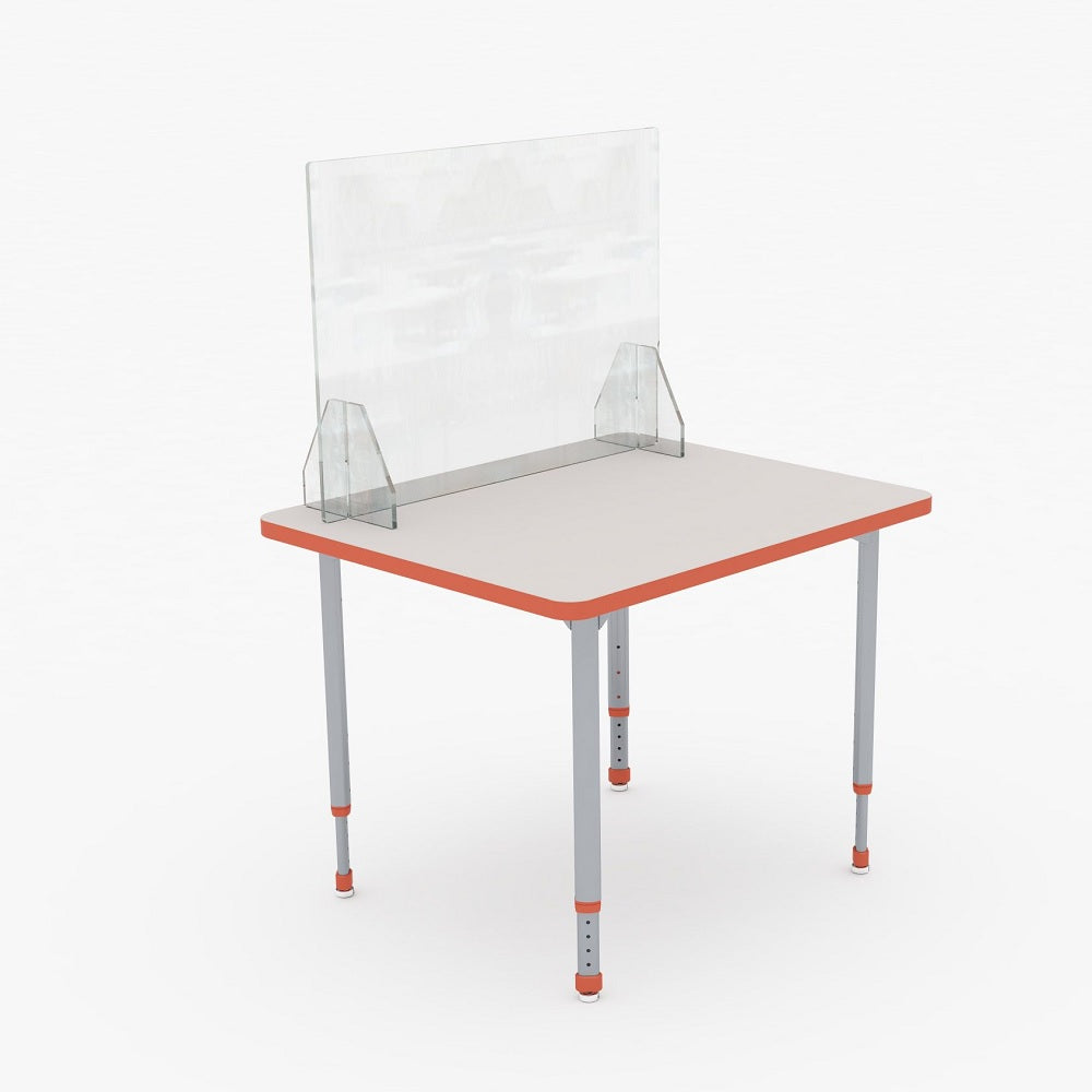 PARAGON CLEAR STUDENT DESK DIVIDER