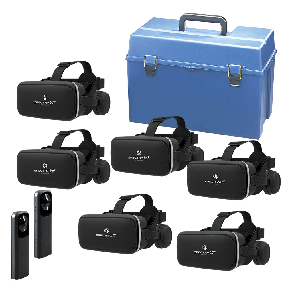 SpectraVIP 360 VR 6-Person Multi-Pack Kit