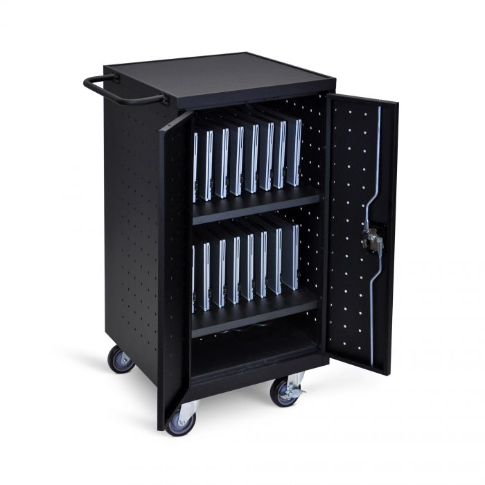 Luxor 18-Laptop / Chromebook Charging Cart #LLTP18-B