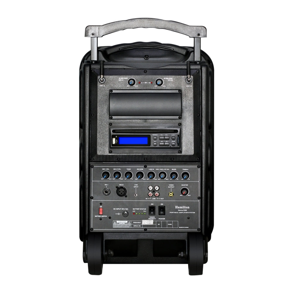 Hamilton Buhl VENU100A Wireless Portable PA