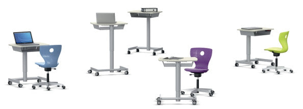 VS Shift+ Interact Height Adjustable Lectern