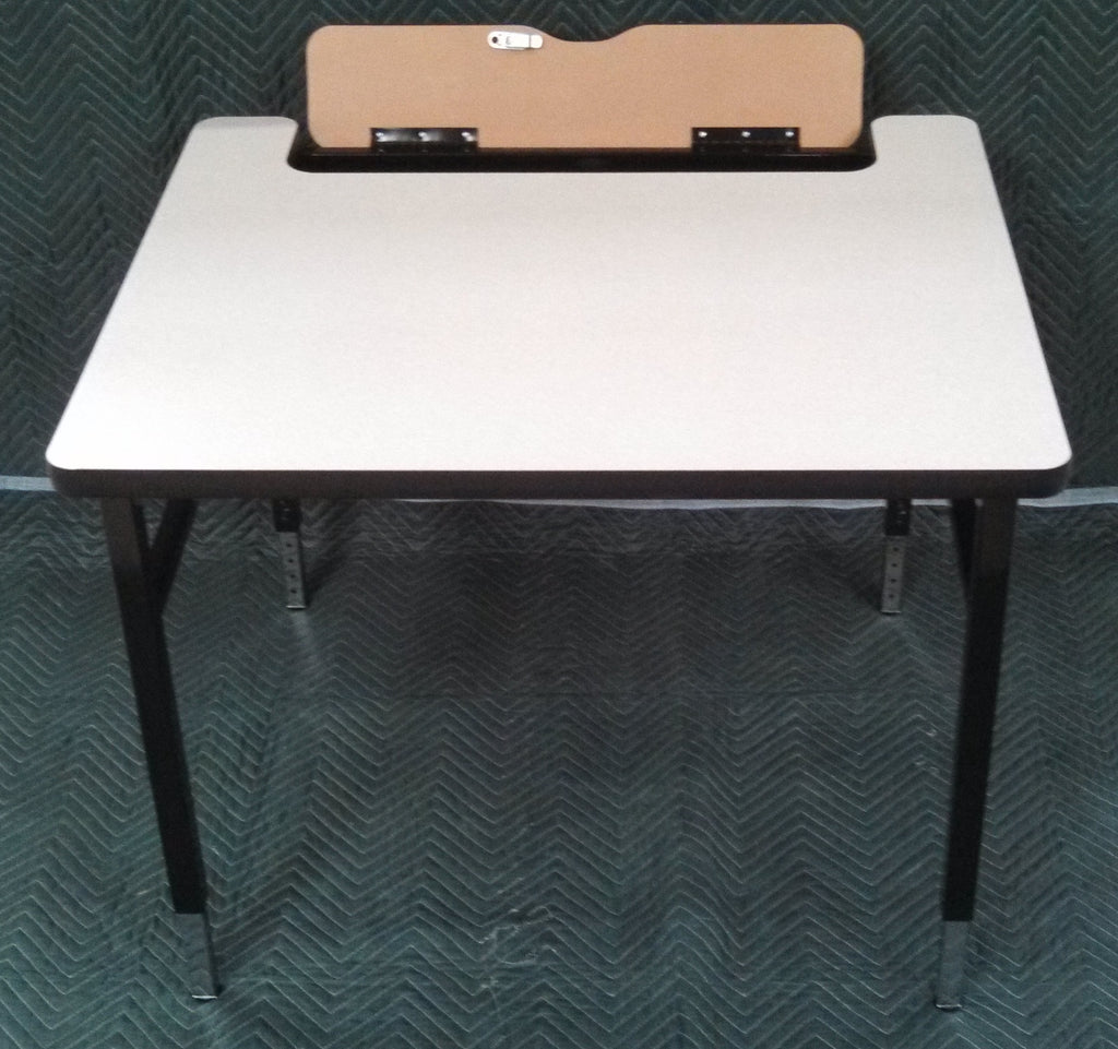BARRICKS SLFT FLIP-TOP COMPUTER TABLE