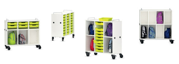 VS Shift+ Transfer Compartmentalized Mobile Cabinet