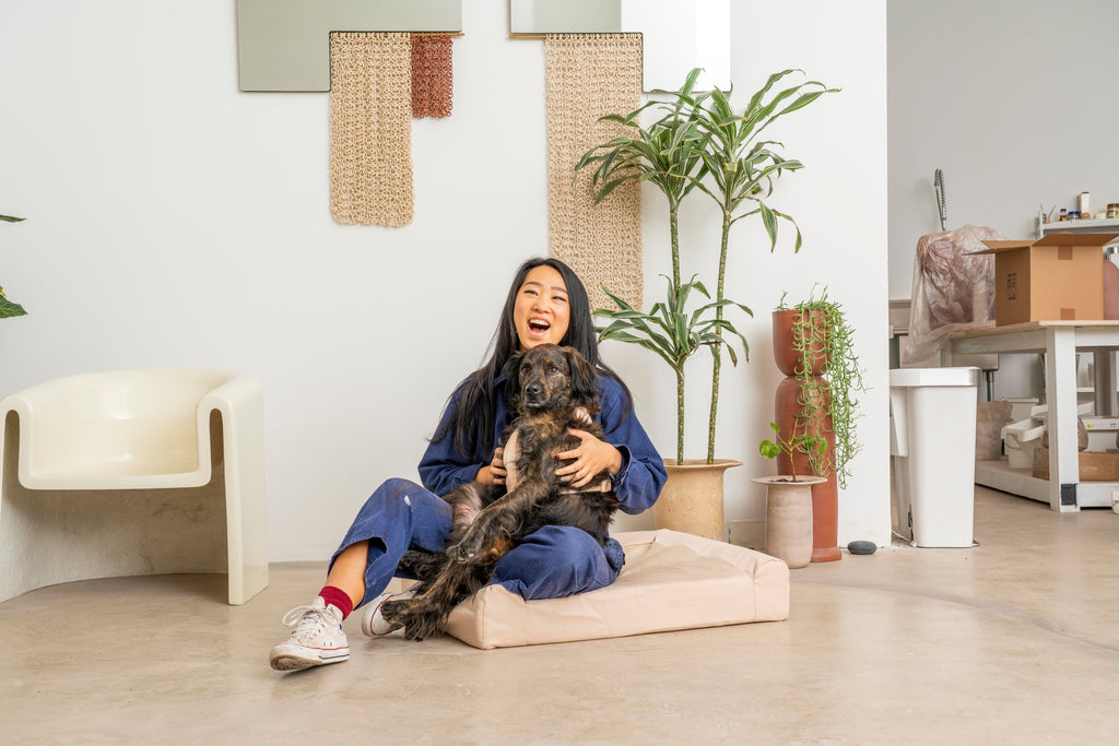 Pets & Their People: Eames Keeps Eny Calm In The Studio