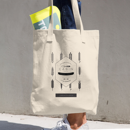 A Flour Arrangement Market Bag