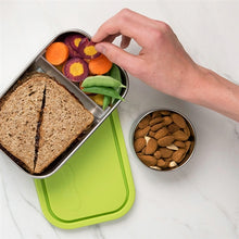 Load image into Gallery viewer, stainless steel lunch containers, food storage containers, stainless bento box, BPA free, food containers