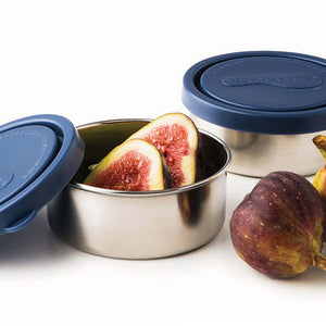 Round Containers Small (Set of 2)