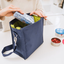 Load image into Gallery viewer, Recycled Insulated Lunch Tote