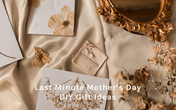 Last Minute DIY Gift Ideas For Mother's Day