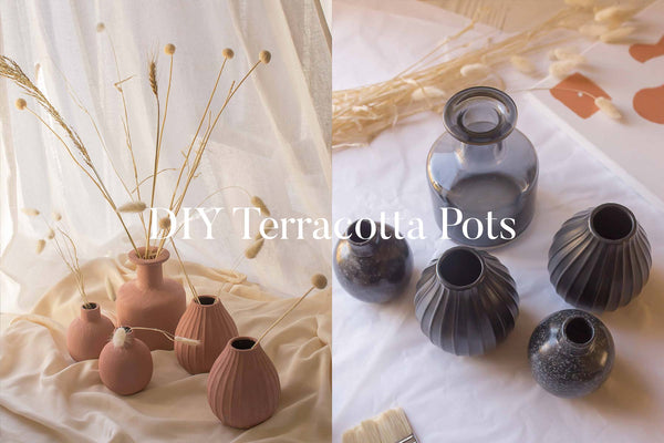 Upcycle Old Jars: How to DIY Terracotta Pots