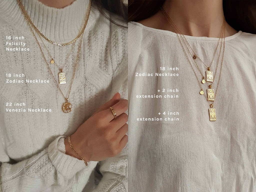 Extension Chain for Necklaces