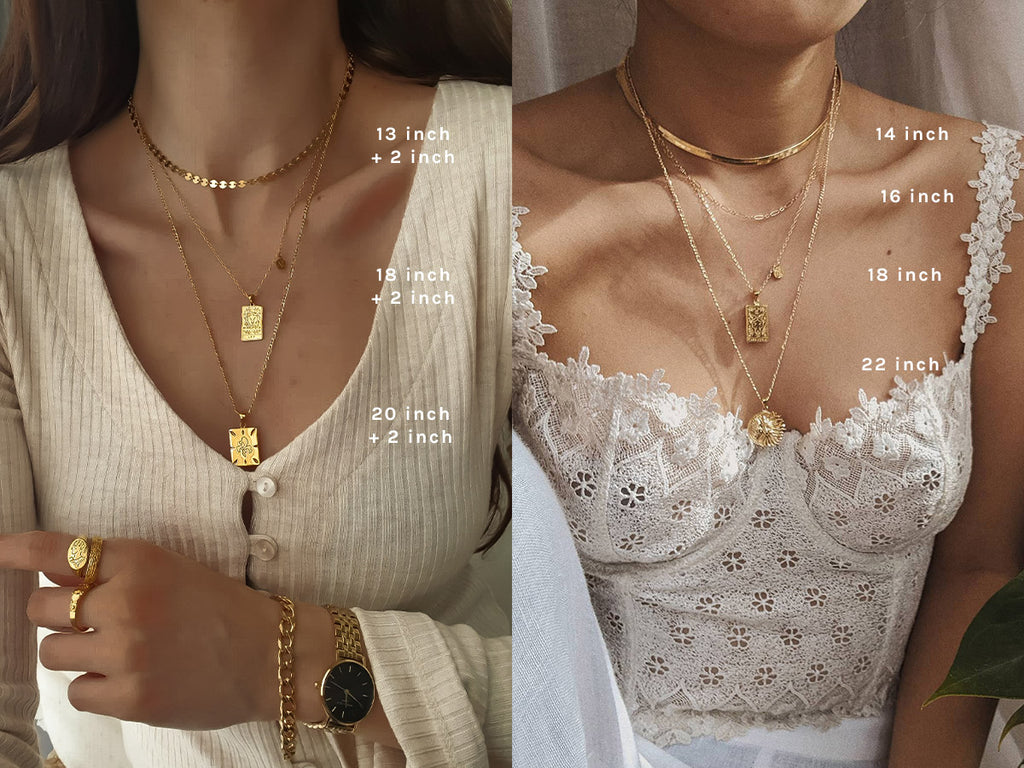 How to Necklace Stack