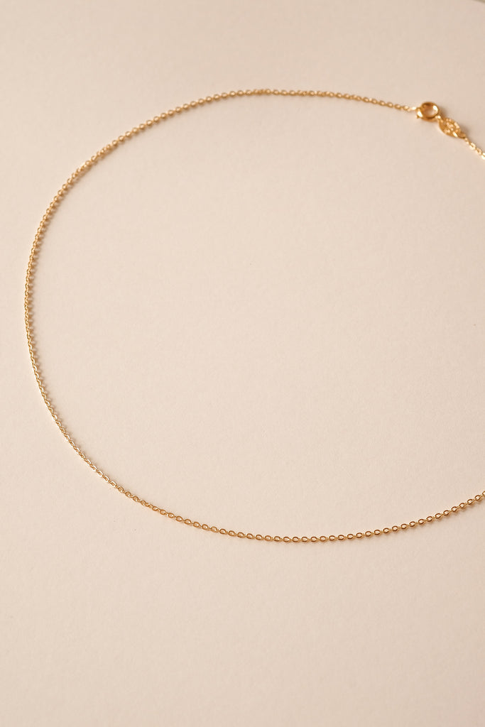 Cable Chain Necklace - S-kin Studio Jewelry | Minimal Jewellery That Lasts.