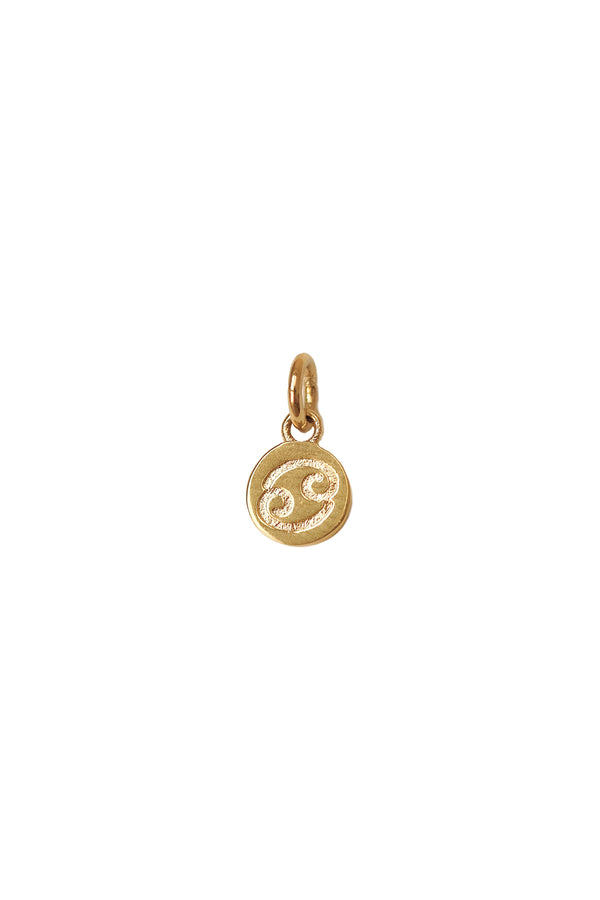 Small Cancer Zodiac Pendant - S-kin Studio Jewelry | Minimal Jewellery That Lasts.