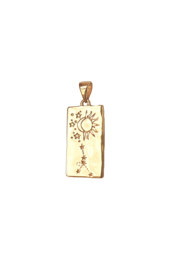 Cancer Zodiac Pendant - S-kin Studio Jewelry | Minimal Jewellery That Lasts.