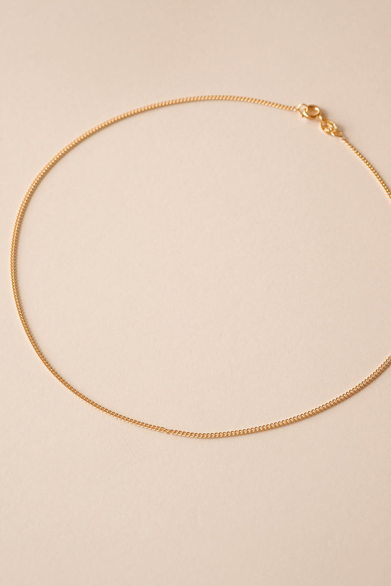 Cuban Chain Necklace - S-kin Studio Jewelry | Minimal Jewellery That Lasts.
