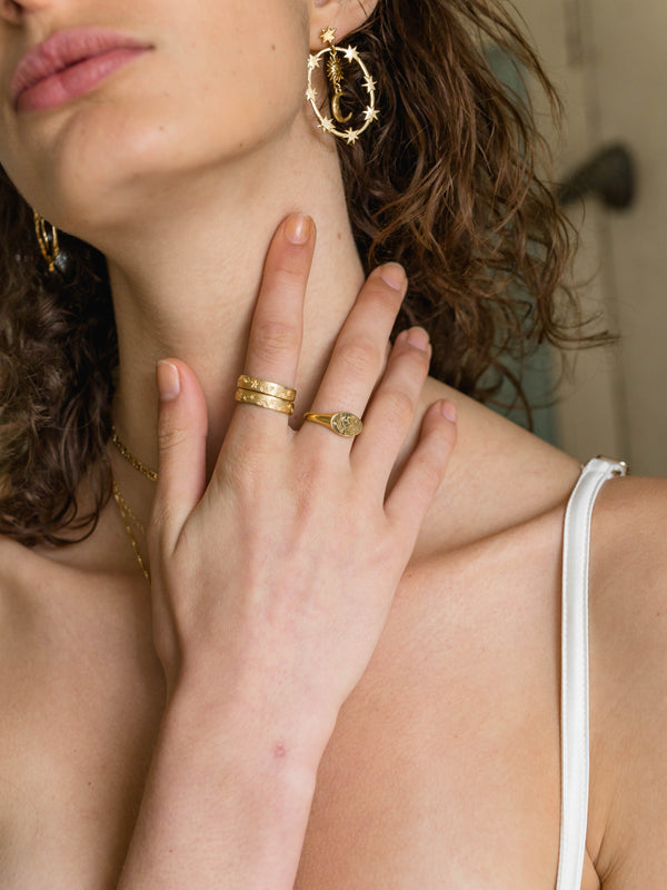 Dante Ring - S-kin Studio Jewelry | Minimal Jewellery That Lasts.