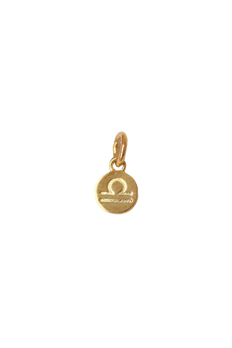 Small Libra Zodiac Pendant - S-kin Studio Jewelry | Minimal Jewellery That Lasts.