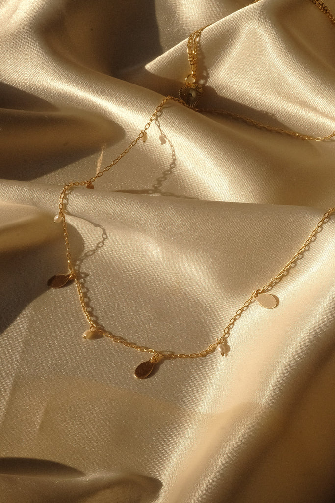 Diana Constellation Necklace - S-kin Studio Jewelry | Minimal Jewellery That Lasts.