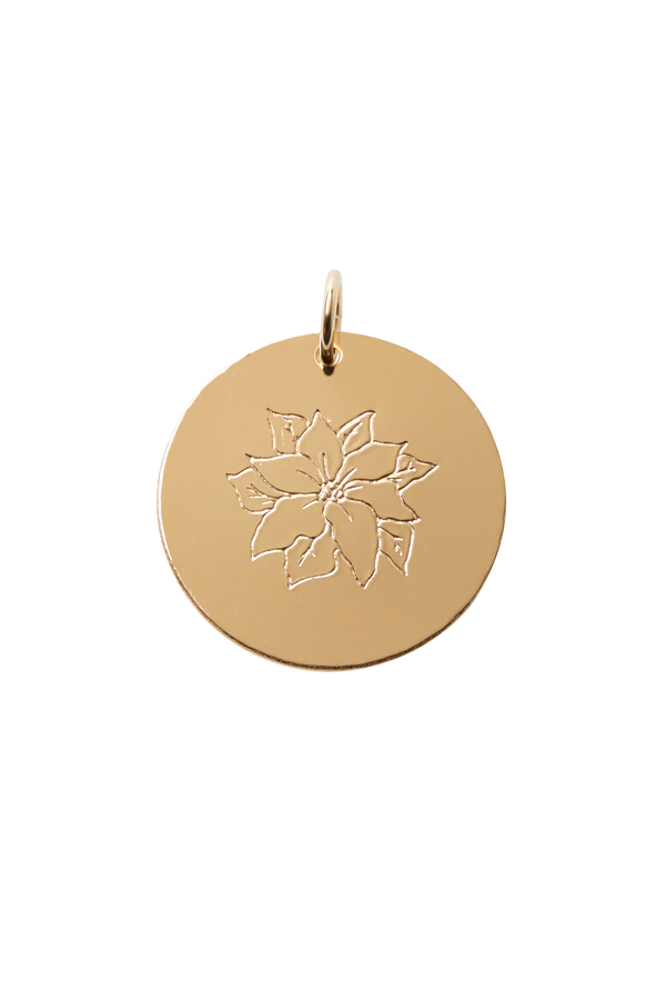 Poinsettia Pendant (December)