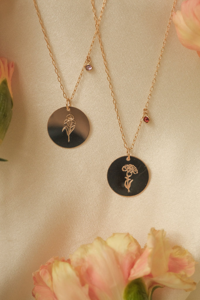 Carnation Necklace (January)