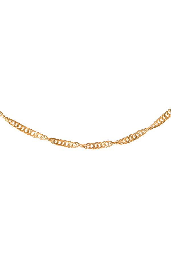Singapore Chain Necklace - S-kin Studio Jewelry | Minimal Jewellery That Lasts.