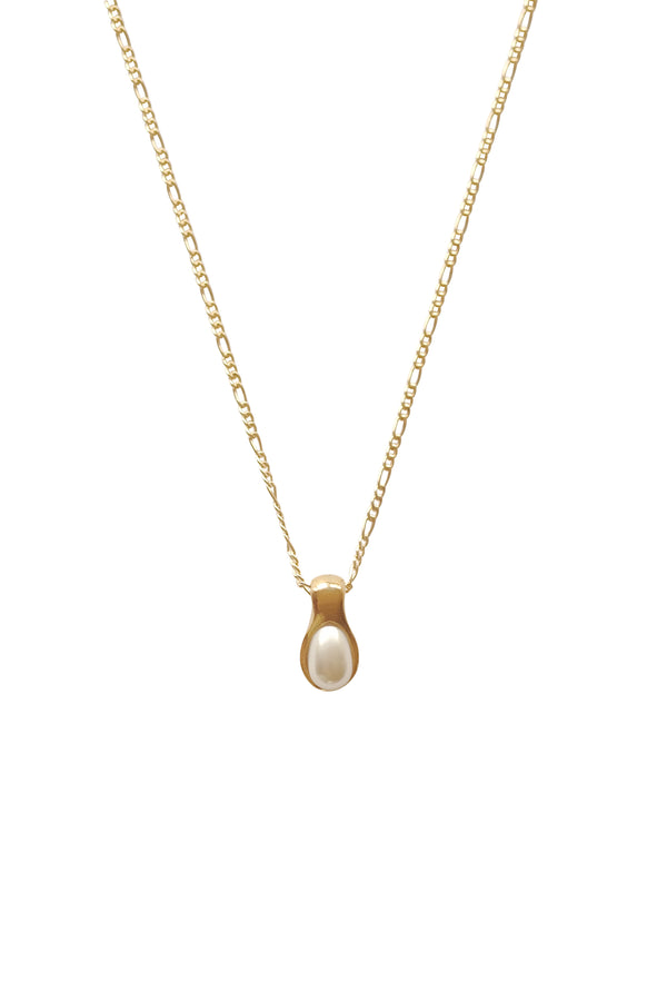 Sophie Pearl Pendant Necklace - S-kin Studio Jewelry | Minimal Jewellery That Lasts.
