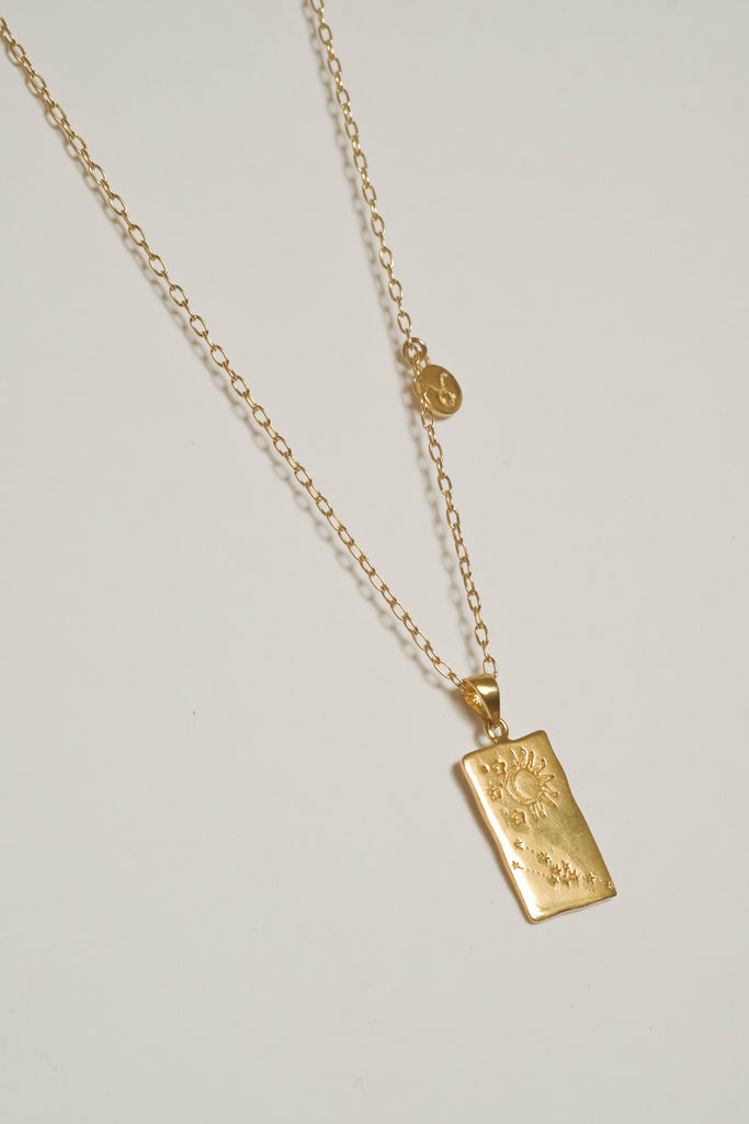 Taurus Zodiac Necklace - S-kin Studio Jewelry | Minimal Jewellery That Lasts.