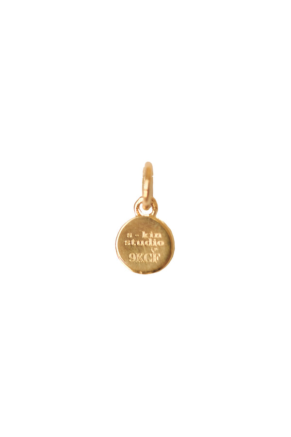 Small Gemini Zodiac Pendant - S-kin Studio Jewelry | Minimal Jewellery That Lasts.