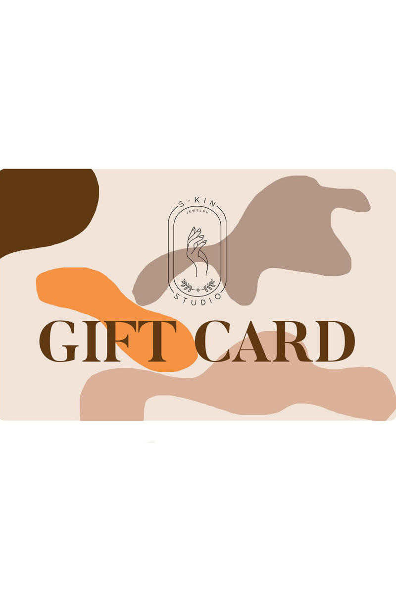 Gift Card - S-kin Studio Jewelry | Minimal Jewellery That Lasts.