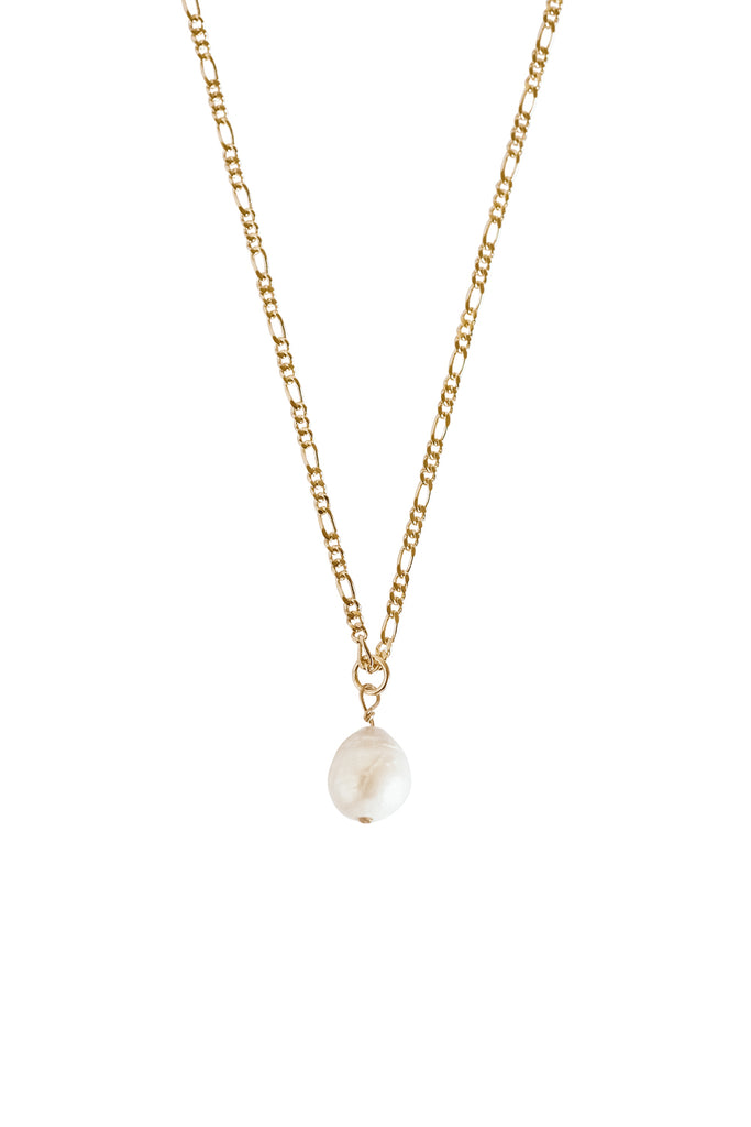 Kaia Baroque Pearl Necklace - S-kin Studio Jewelry | Minimal Jewellery That Lasts.