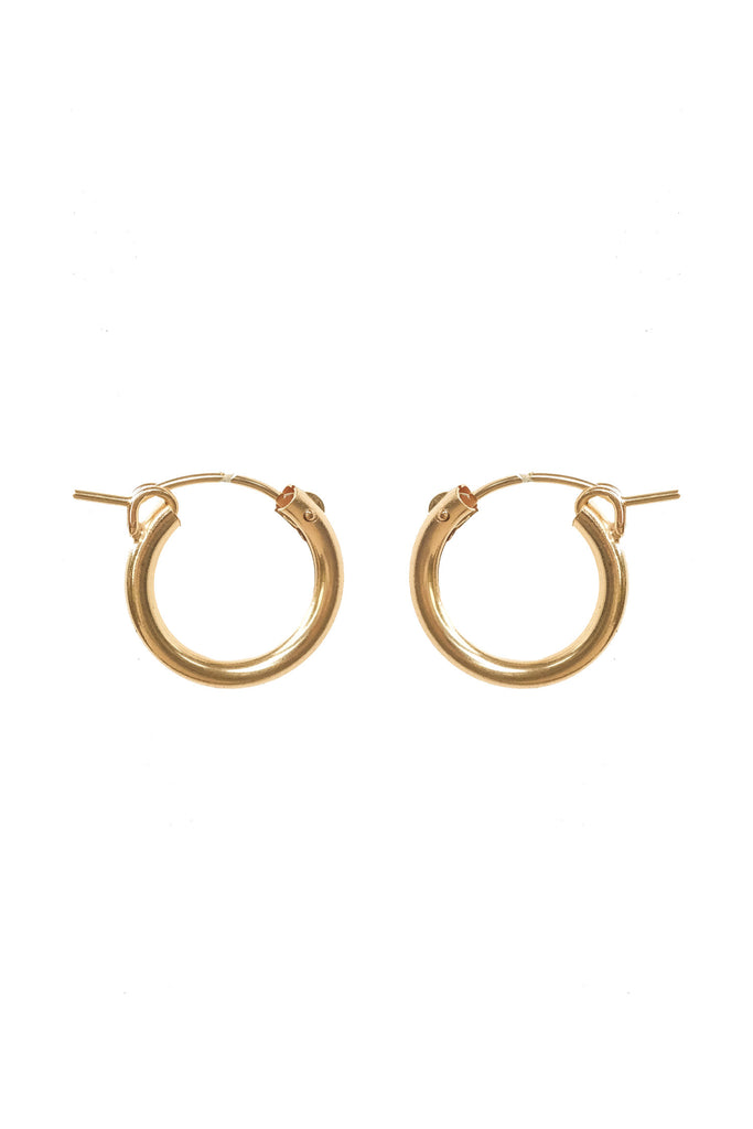 Mix & Match Medium Latch Hoops (15mm) - S-kin Studio Jewelry | Minimal Jewellery That Lasts.
