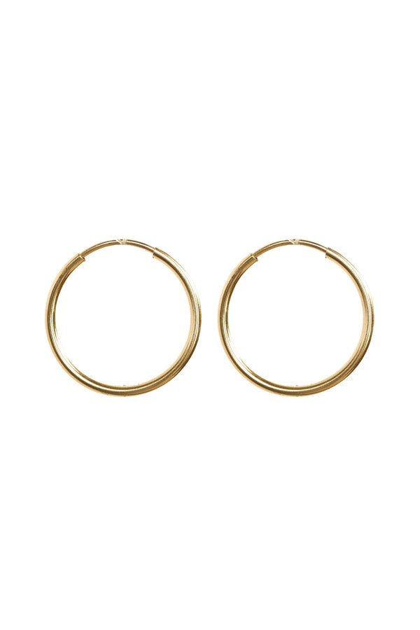 Mix & Match Large Infinite Hoops (20mm) - S-kin Studio Jewelry | Minimal Jewellery That Lasts.