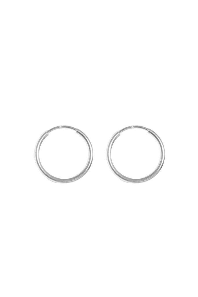 Mix & Match Medium Infinite Hoops (14mm) - S-kin Studio Jewelry | Minimal Jewellery That Lasts.