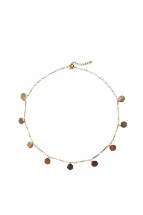 Romee Constellation Droplet Choker - S-kin Studio Jewelry | Minimal Jewellery That Lasts.