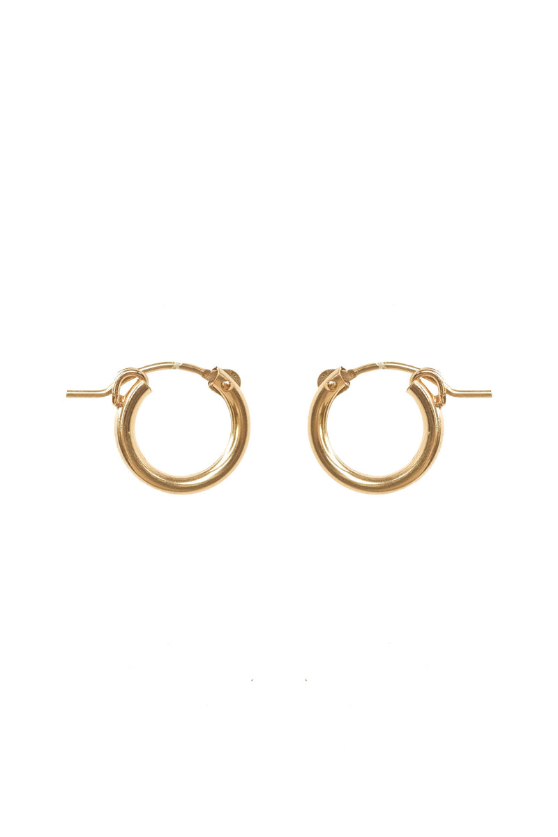 Mix & Match Small Latch Hoops (13mm) - S-kin Studio Jewelry | Minimal Jewellery That Lasts.